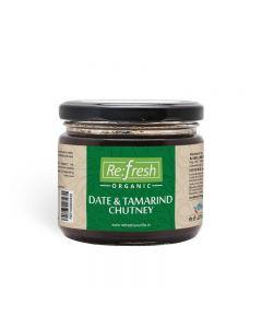Refresh Organic Date & Tamarind Chutney-350gm