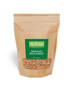 Refresh Organic Dehulled Buck Wheat-1kg