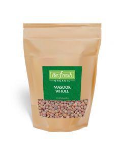 Refresh Organic Masoor Whole-1kg