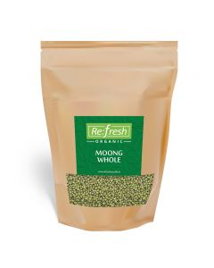 Refresh Organic Moong Whole-1kg