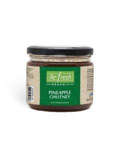 Refresh Organic Pineapple Chutney-350gm
