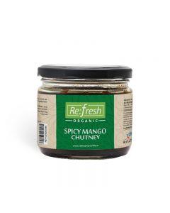 Refresh Organic Spicy Mango Chutney-350gm