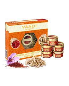 VAADI HERBALS Saffron Sandal Facial Kit-270 gms