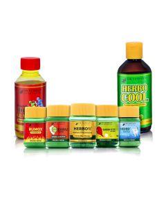 Dr. Vaidya's - Senior Citizen Pack (Herbodanty-50Gm, Herbocool-200ml, Rumox-50Gm, Nirgundi-100ml, Herbofit-30 Capsules and Kabaj-30 Pills, Gasoherb- 30pills