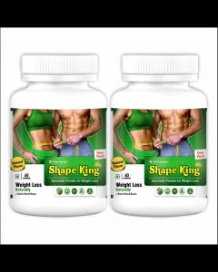 Kaahan Ayurveda Shape King-60Capsules Pack of 2pc