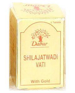 Dabur Shilajatwadi Vati (Gold) 2gm - 5Tab