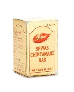 Dabur Shwas Chintamani Ras Gold-25tab