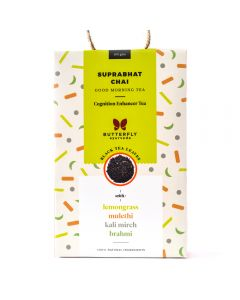 Butterfly Ayurveda Suprabhat Chai with Assam black Tea Leaves-100gm