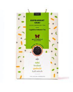 Butterfly Suprabhat Chai - Kapha Balancing Black Tea - 100Gm