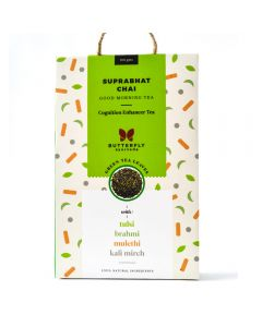 Butterfly Suprabhat Chai Kapha balancing green tea - 100gm