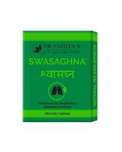 Dr. Vaidya's Swasaghna Pills Pack of 3 Asthma & Respiratory Problems-72 Pills