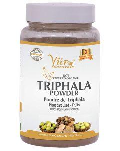 Vitro Naturals Certified Organic Triphala Powder-100gm