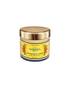 Vedatika Hearbals Anti ageing Mask (with saffron and Shilajit)-60gm