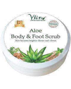 Vitro Aloe Body & Foot Scrub-100gm
