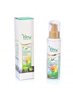 vitro Premium Aloe Hand & Body Moisturizing Lotion-100gm