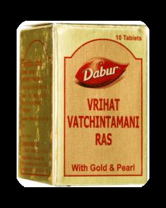Dabur Vr.Vatchintamani Ras Gold-10tab