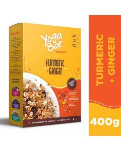 Yogabar Wholegrain Breakfast Muesli-Turmeric & Ginger-400gm
