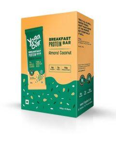 Yogabar Breakfast Bar-Almond Coconut Protein Bar-6pc