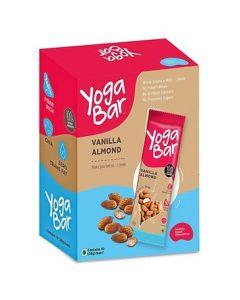 Yogabar Multigrain Energy Bar Vanilla Almond-10PC