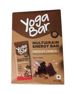 Yogabar Multigrain Energy Bar Chocolate Chunk Nut-10PC