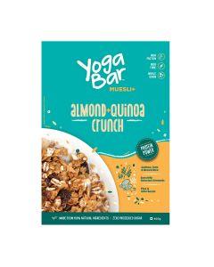 YogaBar Wholegrain Muesli - Almond + Quinoa Crunch-400gm