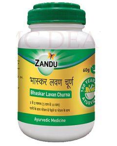 Zandu Bhaskar Lavan Churna-60gm Pack of 4pc