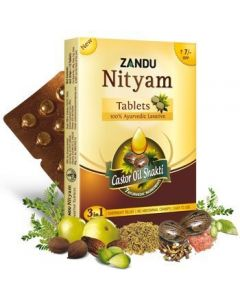Zandu Nityam-12 Tablets Pack of 4