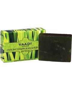 Vaadi Herbals ENTICING LEMONGRASS SCRUB SOAP-75 gms