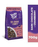 Yogabar Wholegrain Muesli-Dark Chocolate + Cranberry-700gm