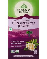 Organic India Tulsi Green Tea Jasmine-25 Tea Bags