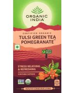 Organic India Tulsi Green Tea Pomegranate-25 Tea Bags