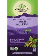 Organic India Tulsi Mulethi-25 Tea Bags