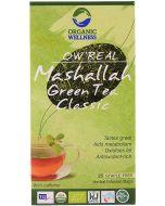 Organic Wellness Mashallah Green Tea Classic-25 Teabags