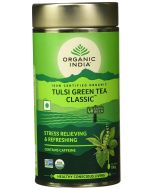 Organic India The Tulsi Green Tea-100gm tin
